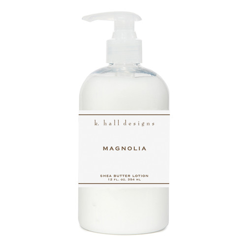 Magnolia 12 oz. Shea Butter Lotion by K. Hall Designs