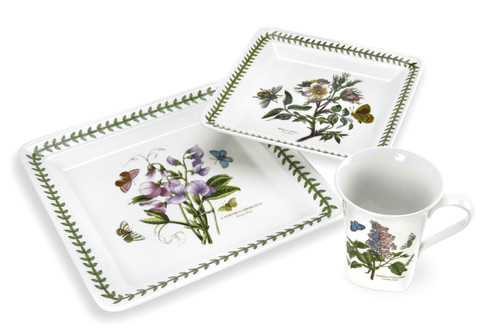 Botanic Garden 12-Piece Square Dinner Setting by Portmeirion - Special Order