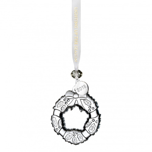 Mini Wreath Ornament by Waterford