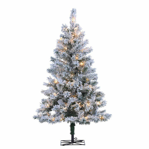 Flocked Colorado 4 ft. Spruce by Sterling Tree