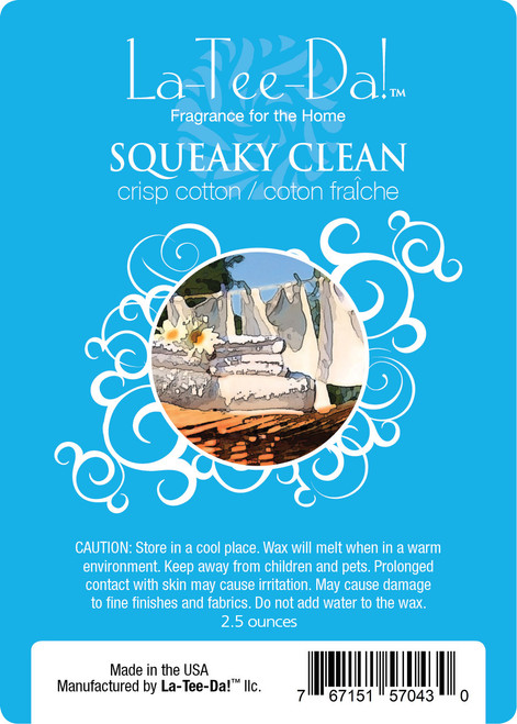 Squeaky Clean Magic Melt by La Tee Da