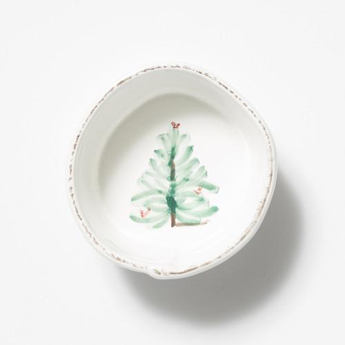 Vietri Lastra Holiday Condiment Bowl - Special Order