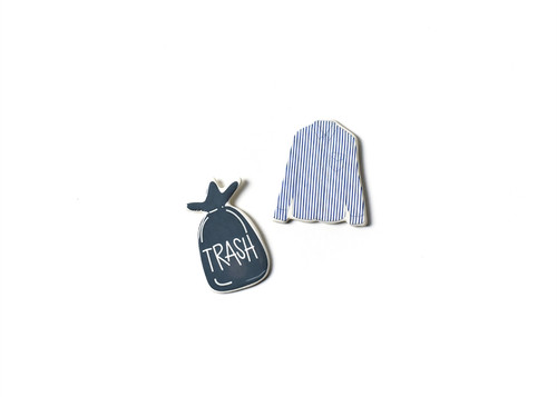 Trash and Laundry Chore Reminders Calendar Magnets Set by Happy Everything!