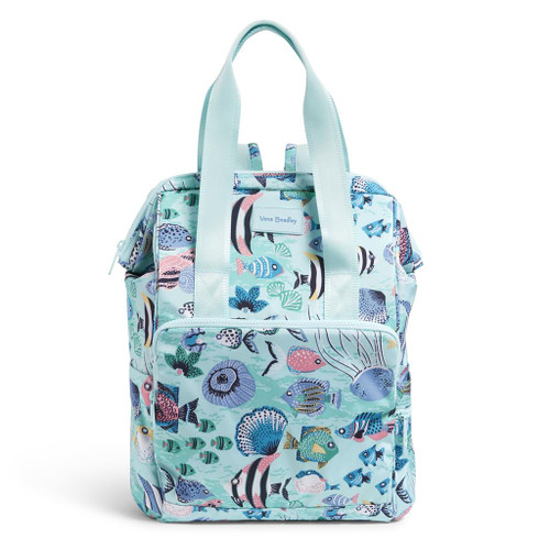 ReActive Cooler Backpack Paisley Wave Fish by Vera Bradley
