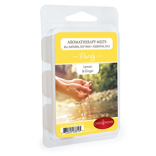 Purify (Lemon & Ginger) Aromatherapy Wax Melt by Candle Warmers