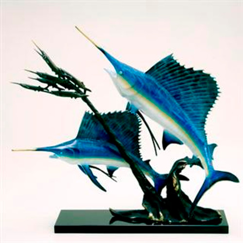 Sailfish Going After Ballyhoo - SPI Home (Special Order)