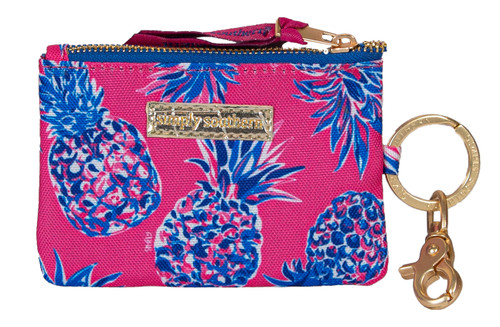 Pineapple ID Coin Holder By Simply Southern