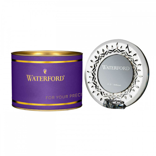 Giftology Lismore Round Mini Frame by Waterford