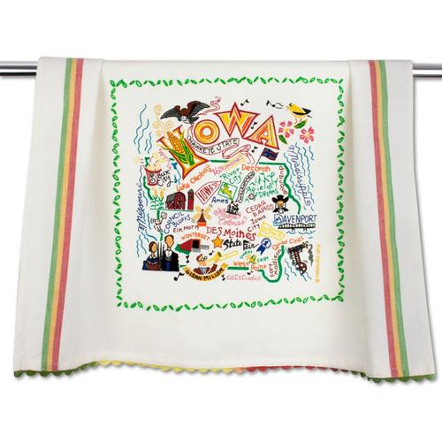 Iowa Dish Towel by Catstudio