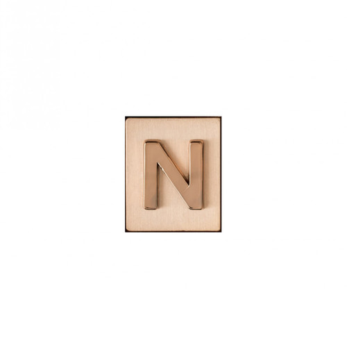 """""""N"""" AKA Monogram Letter & Icon Spacer by Spartina 449"""