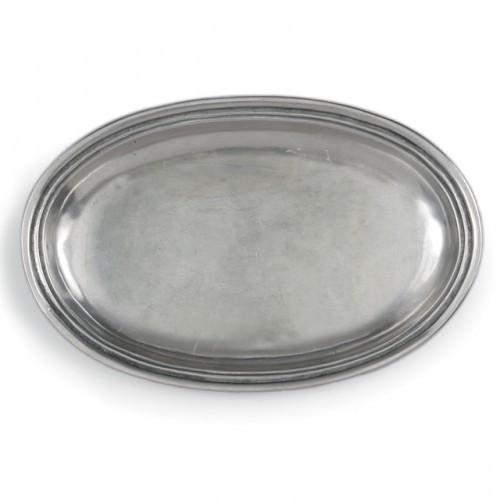Roma Peltro Oval Dish - Arte Italica
