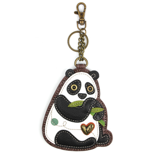 New Panda Key Fob and Coin Purse by Chala