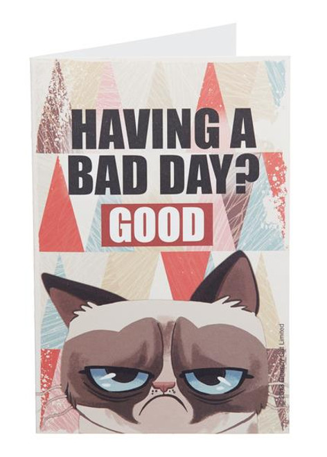 Grumpy Cat Note Cards - Having A Bad Day