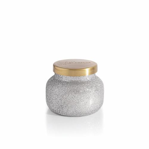 Frosted Fireside 8 oz. Glam Petite Jar by Capri Blue