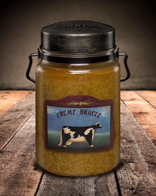 Creme Brulee 26 oz. McCall's Classic Jar Candle