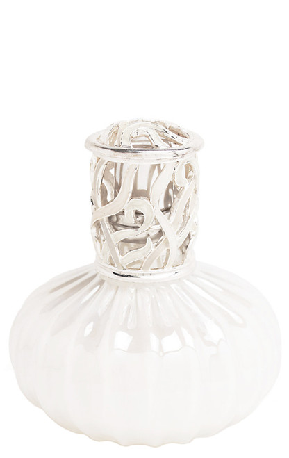 White Wave Fragrance Lamp by Alexandria's
