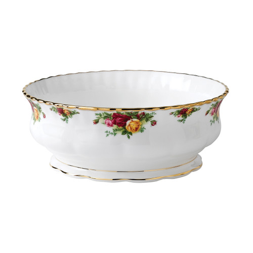 Old Country Roses Salad Bowl by Royal Albert