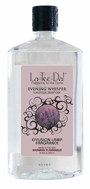 32 oz.  Evening Whisper La Tee Da Fragrance Oil