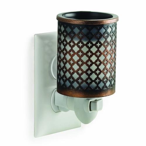 Moroccan Metal Plug In Fragrance Warmer