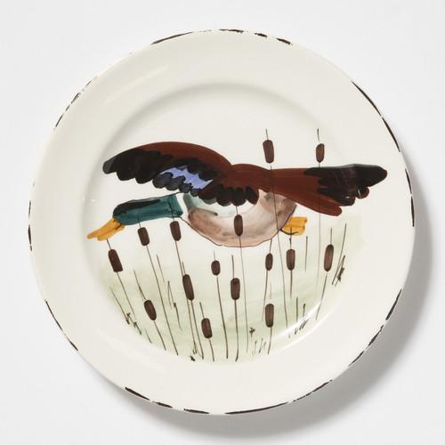 Vietri Wildlife Mallard Dinner Plate - Special Order