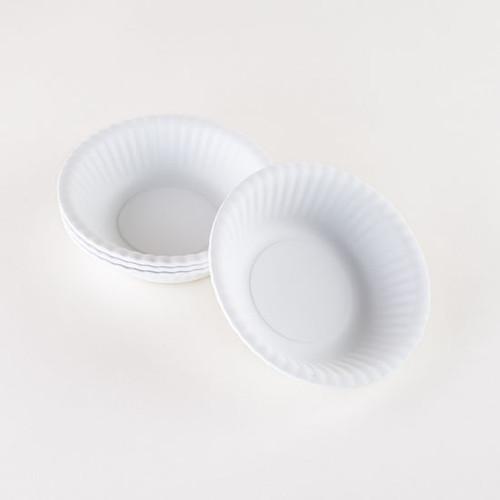 """White Melamine 6"""" Bowl by One Hundred 80 Degrees - Set of 4"""