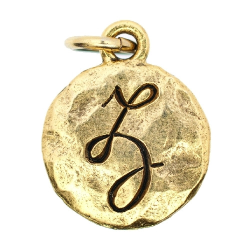 Monogram Collection Gold - Z by Beaucoup Designs