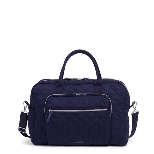 Weekender Travel Bag Classic Navy by Vera Bradley