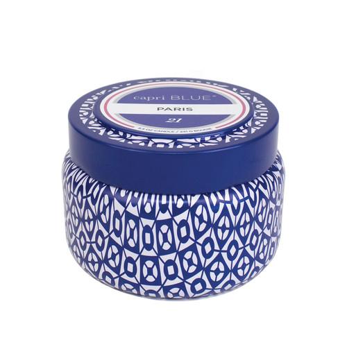 No. 21 Paris Printed Travel Tin by Capri Blue