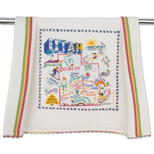 Utah Dish Towel by Catstudio