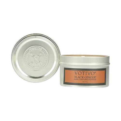 Black Ginger Aromatic Travel Tin Votivo Candle