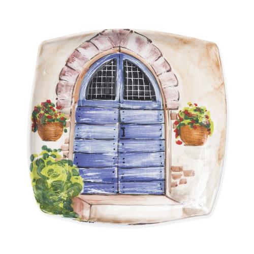 Vietri Landscape Blue Door Wall Plate