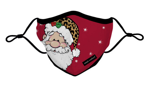 Santa Adult Mask by Simply Southern