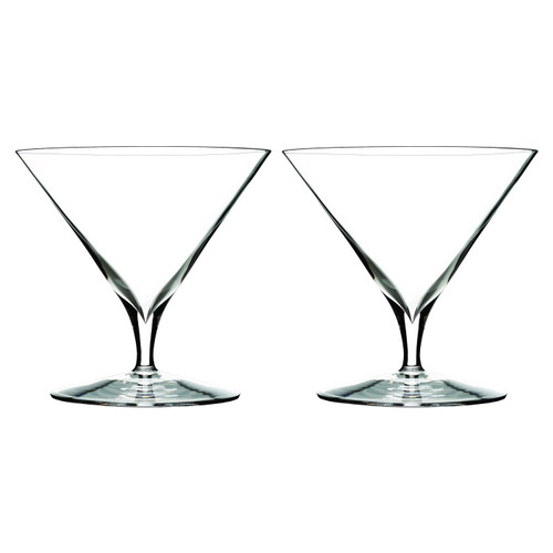 Elegance Martini Glass Pair by Waterford - Special Order