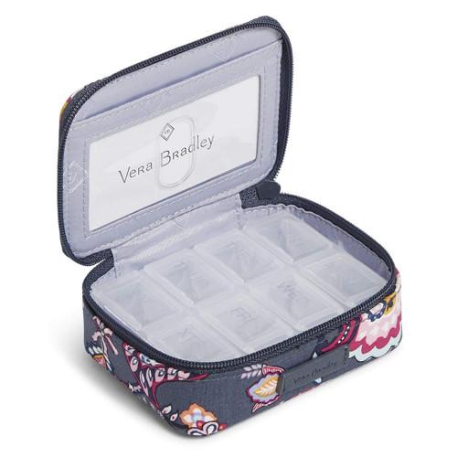 Travel Pill Case Felicity Paisley by Vera Bradley