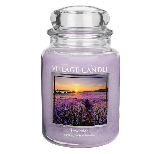 Lavender 26 oz. Premium Round by Village Candles