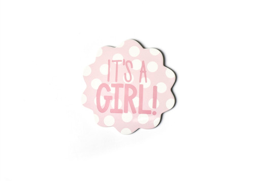 It's a Girl Big Attachment by Happy Everything!