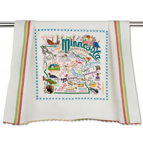 Minnesota Dish Towel by Catstudio
