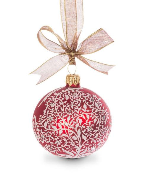 "Jay Strongwater Filigree Artisan 3"" Ornament"