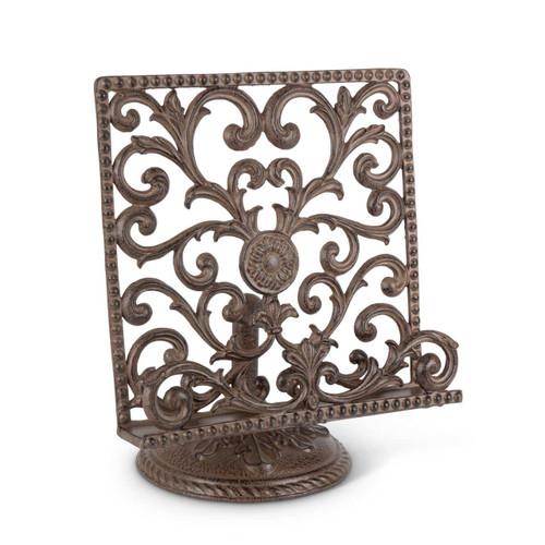 Acanthus Leaf Metal Cookbook/Tablet Holder - GG Collection