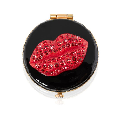 Jay Strongwater Monroe Lip Compact - Special Order