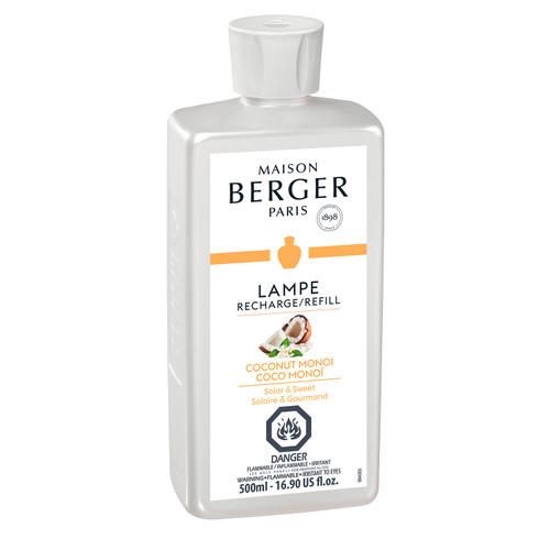Coco Monoi 500 ml (16.9 oz.) Fragrance Lamp Oil - Lampe Berger by Maison Berger