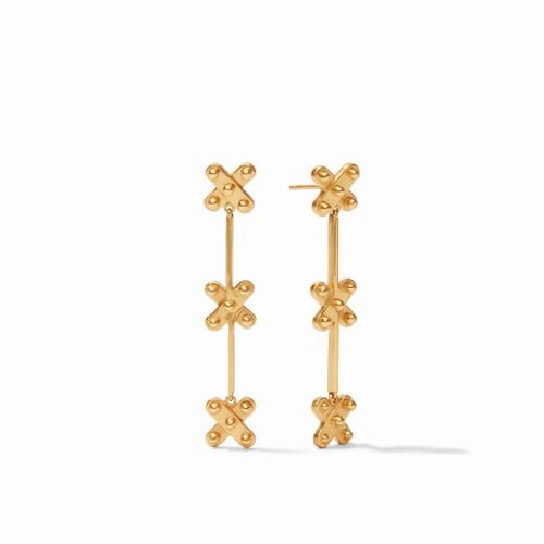 Julie Vos SoHo Duster Earring - Gold