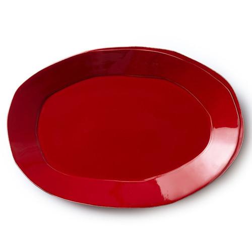 Vietri Lastra Red Oval Platter - Special Order