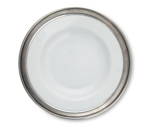 Tribeca Classic Pewter Rim Soup Bowl by Vagabond House - Special Order