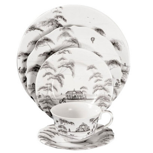 Country Estate Flint 5 Piece Place Setting by Juliska - Special Order