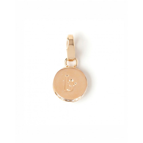 """Letter """"B"""" Round Crystal Charm - Style Spartina 449"""