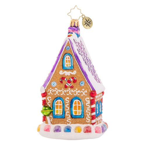 The Confectioner's Chalet Ornament by Christopher Radko