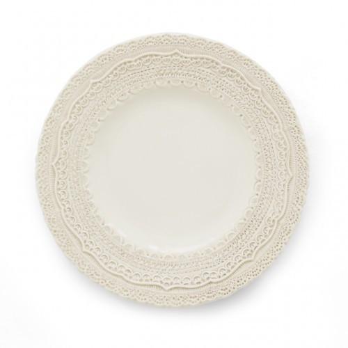 Finezza Cream Salad/Dessert Plate - Arte Italica