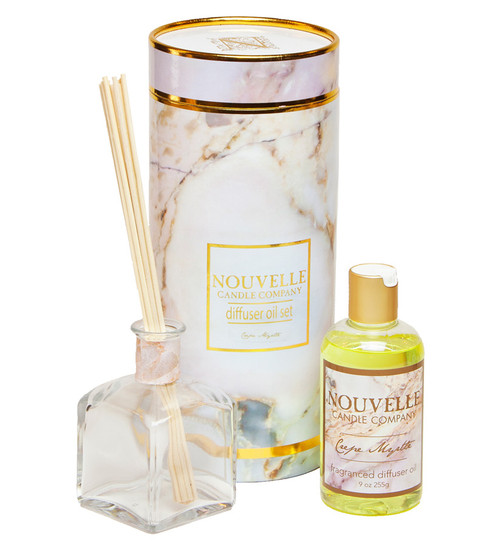 Crepe Myrtle Reed Diffuser Boxed Set Nouvelle Candle