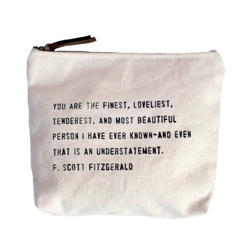 You Are The Finest Canvas Bag by Sugarboo Designs